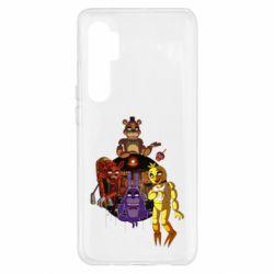 Чохол для Xiaomi Mi Note 10 Lite Five Nights At Freddy's