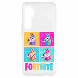 Чехол для Xiaomi Mi Note 10 Lite Fortnite Llamas
