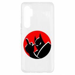Чехол для Xiaomi Mi Note 10 Lite Fuck Batman