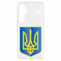 Чохол для Xiaomi Mi Note 10 Lite Герб України 3D