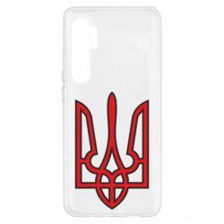 Чохол для Xiaomi Mi Note 10 Lite Герб України (двокольоровий)