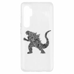 Чохол для Xiaomi Mi Note 10 Lite Godzilla from the newspapers