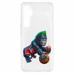 Чехол для Xiaomi Mi Note 10 Lite Gorilla and basketball ball