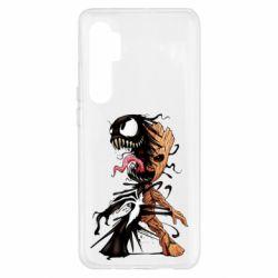 Чохол для Xiaomi Mi Note 10 Lite Groot and Venom