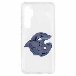 Чохол для Xiaomi Mi Note 10 Lite Gym Shark