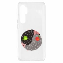 Чохол для Xiaomi Mi Note 10 Lite Hedgehogs yin-yang