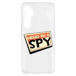 Чохол для Xiaomi Mi Note 10 Lite Hello i'm a spy