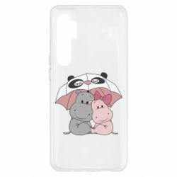 Чохол для Xiaomi Mi Note 10 Lite Hippos