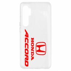 Чохол для Xiaomi Mi Note 10 Lite Honda Accord