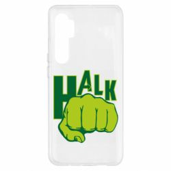 Чехол для Xiaomi Mi Note 10 Lite Hulk fist