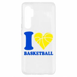 Чохол для Xiaomi Mi Note 10 Lite I love basketball
