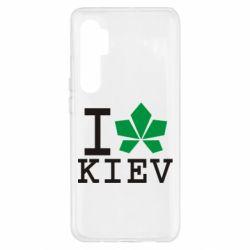Чехол для Xiaomi Mi Note 10 Lite I love Kiev - с листиком