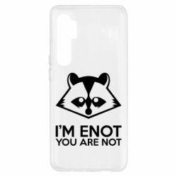 Чехол для Xiaomi Mi Note 10 Lite I'm ENOT