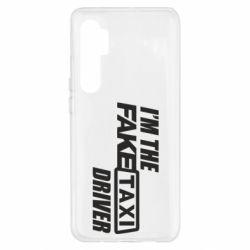 Чехол для Xiaomi Mi Note 10 Lite I'm the Fake Taxi Driver