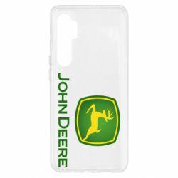 Чехол для Xiaomi Mi Note 10 Lite John Deere logo