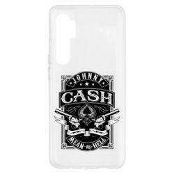 Чохол для Xiaomi Mi Note 10 Lite Johnny cash mean as hell