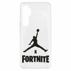 Чехол для Xiaomi Mi Note 10 Lite JORDAN FORTNITE