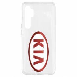 Чохол для Xiaomi Mi Note 10 Lite KIA 3D Logo