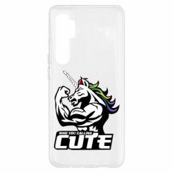 Чохол для Xiaomi Mi Note 10 Lite Кого ти назвав милим