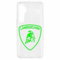 Чохол для Xiaomi Mi Note 10 Lite Lamborghini Auto