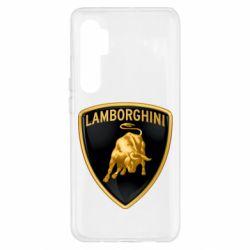 Чохол для Xiaomi Mi Note 10 Lite Lamborghini Logo