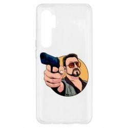 Чохол для Xiaomi Mi Note 10 Lite Лебовськи з пістолетом