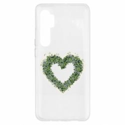 Чехол для Xiaomi Mi Note 10 Lite Lilies of the valley in the shape of a heart