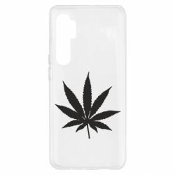 Чохол для Xiaomi Mi Note 10 Lite Листочок марихуани
