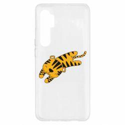 Чехол для Xiaomi Mi Note 10 Lite Little striped tiger