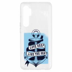 Чохол для Xiaomi Mi Note 10 Lite Love deep like the sea