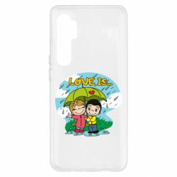 Чохол для Xiaomi Mi Note 10 Lite Love is ... in the rain