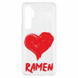 Чохол для Xiaomi Mi Note 10 Lite Love ramen