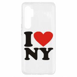 Чохол для Xiaomi Mi Note 10 Lite Люблю Нью Йорк