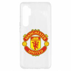 Чохол для Xiaomi Mi Note 10 Lite Манчестер Юнайтед