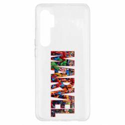 Чехол для Xiaomi Mi Note 10 Lite Marvel comics and heroes