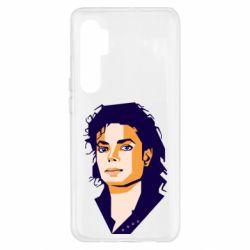 Чехол для Xiaomi Mi Note 10 Lite Michael Jackson Graphics Cubism