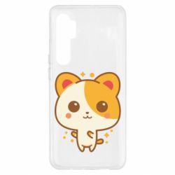 Чехол для Xiaomi Mi Note 10 Lite Милая кися