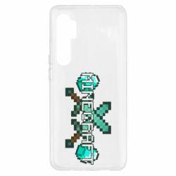 Чохол для Xiaomi Mi Note 10 Lite Minecraft алмазний меч