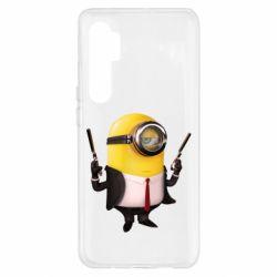 Чехол для Xiaomi Mi Note 10 Lite Миньон Хитман