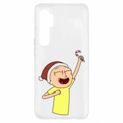 Чехол для Xiaomi Mi Note 10 Lite Morty with Christmas candy