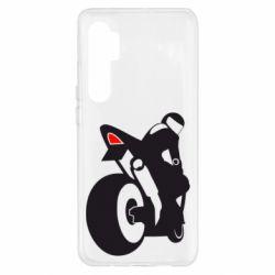 Чохол для Xiaomi Mi Note 10 Lite Мотоцикліст на спорті