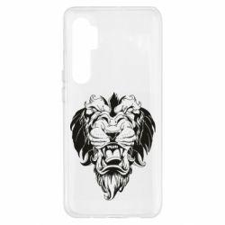 Чохол для Xiaomi Mi Note 10 Lite Muzzle of a lion