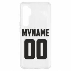 Чохол для Xiaomi Mi Note 10 Lite My name American