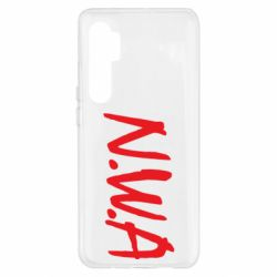 Чехол для Xiaomi Mi Note 10 Lite N.W.A Logo