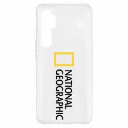 Чехол для Xiaomi Mi Note 10 Lite National Geographic logo