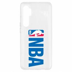 Чохол для Xiaomi Mi Note 10 Lite NBA Logo