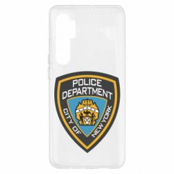 Чохол для Xiaomi Mi Note 10 Lite New York Police Department