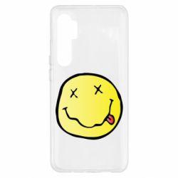 Чохол для Xiaomi Mi Note 10 Lite Nirvana Logo 3D