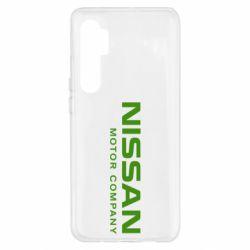 Чехол для Xiaomi Mi Note 10 Lite Nissan Motor Company