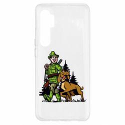 Чохол для Xiaomi Mi Note 10 Lite Мисливець з собакою